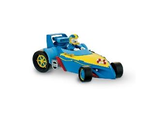 Mickey és az autóversenyzők: Donald versenyautóban