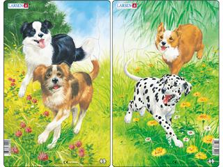 Larsen Midi Puzzle - Kutyák H19