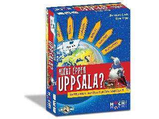 Miért éppen Uppsala? földrajzi társasjáték