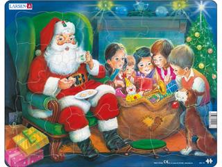 Mikulás a gyerekekkel - jul14