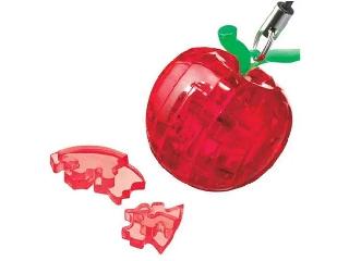 Mini 3D Kristály kirakó - Piros alma puzzle
