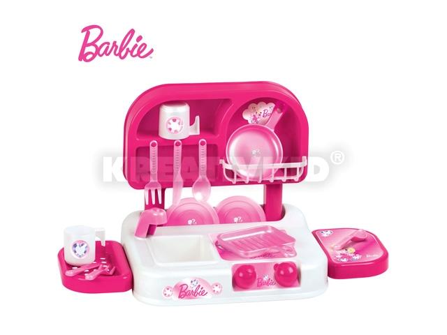 Mini Barbie konyhaszett