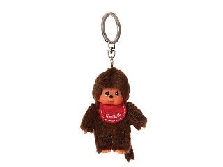Monchhichi Kulcstarto 10 cm-es - piros fiú