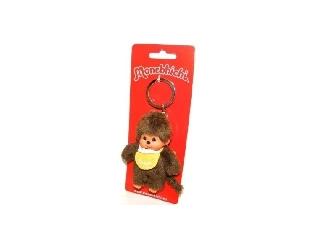 Monchhichi Kulcstarto 10 cm-es - sárga fiú