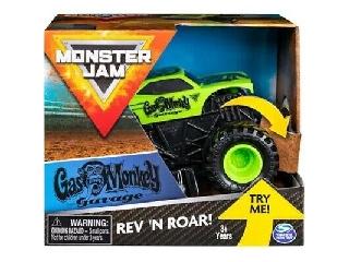 Monster Jam 1:43 Gas Monkey felhúzós kisautó