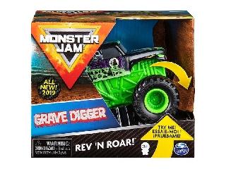Monster Jam 1:43 Grave Digger felhúzós kisautó
