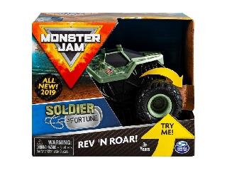 Monster Jam 1:43 Soldier Fortune felhúzós kisautó