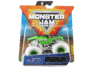 Monster Jam 1:64 kisautó Alien Invasion