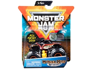 Monster Jam 1:64 kisautó Monster Mutt Rottweiler