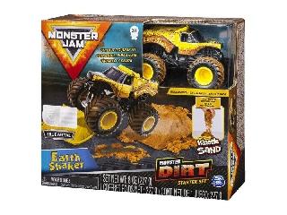Monster Jam és homokgyurma pályaszett - Earth Shaker