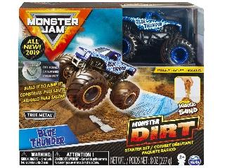 Monster Jam és homokgyurma pályaszett - Blue Thunder