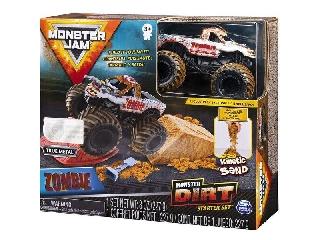 Monster Jam és homokgyurma pályaszett - Zombie