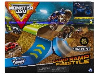 Monster Jam játékszett Son-uva Digger 1:64