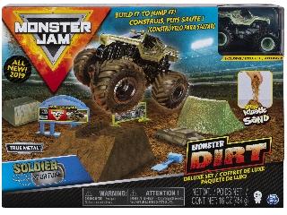 Monster Jam és homokgyurma pályaszett