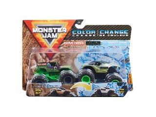 Monster Jam kisautók Grave Digger és Alien Invasion