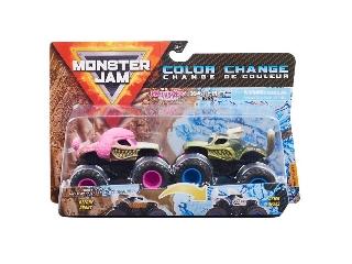 Monster Jam kisautók Monster Mutt Poodle és Monster Mutt Husky 1:64