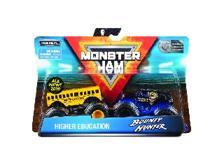 Monster Jam kisautók Higher Education és Bounty Hunter 1:64