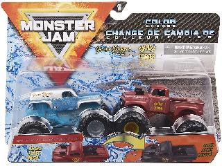 Monster Jam kisautók Grave Digger The Legend  és Grave Digger 1:64