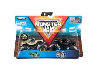 Monster Jam kisautók Soldier Fortune és Soldier Fortune Black OPS 1:64