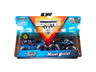 Monster Jam kisautók Son-uva Digger Mohawk Warrior1:64
