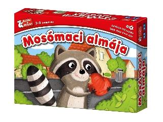 Mosómaci almája fejlesztő társasjáték