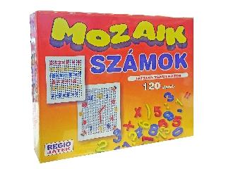 Mozaik számok 120db-os készlet