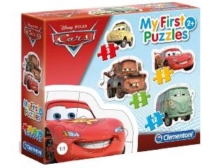 My First Puzzle - Verdák 4 az 1-ben sziluett puzzle