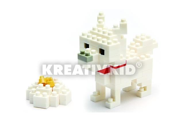 Nanoblock építőjáték - Hokkaido Kutya