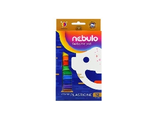 Nebuló - 12 darabos színes gyurma