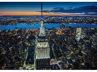 New York fényei 1000 db-os puzzle Piatnik