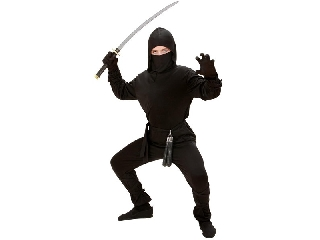 Ninja jelmez 128-as méret
