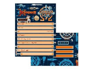 Omega city partimeghívó borítékkal