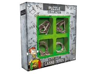 Ördöglakat szett - JUNIOR Metal puzzles collection