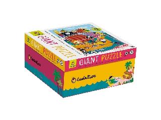 Óriás puzzle kalózhajó 48 db-os