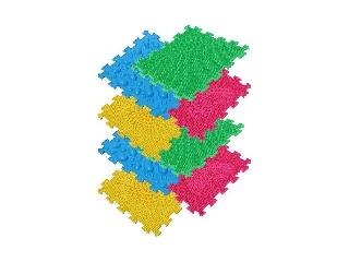 Ortho Puzzle: Ortopédiai masszázs szőnyeg szett, 8 darabos - Első lépések