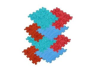 Ortho Puzzle: Ortopédiai masszázs szőnyeg szett, 8 darabos - Tenger