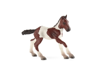 Paint horse csikó figura