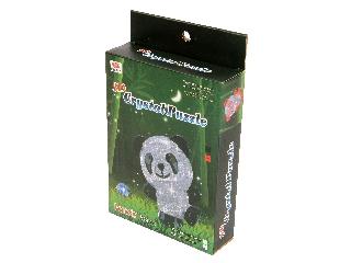 Panda 53 darabos világító kristály puzzle