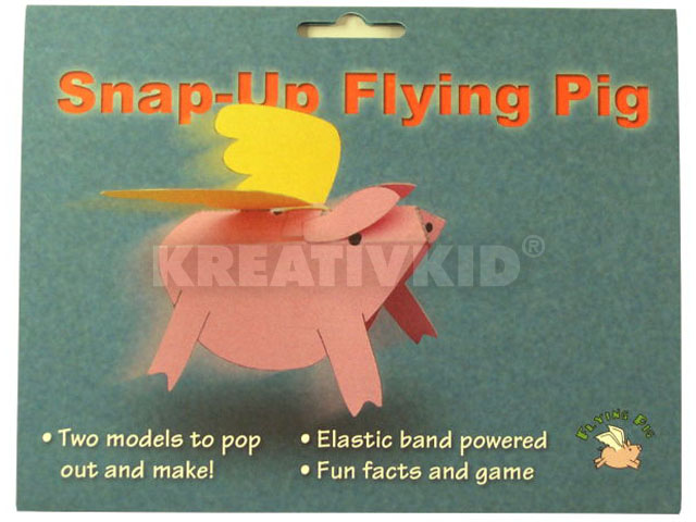Papírjáték - Repülő malac