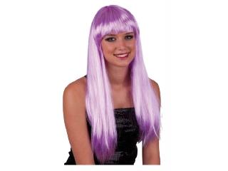 Paróka - hosszú haj - lila