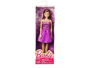 Parti Barbie - barna hajú