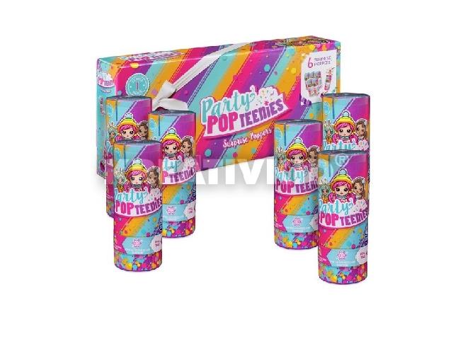Party Pop Teenies - Meglepetés Popper hatos csomag