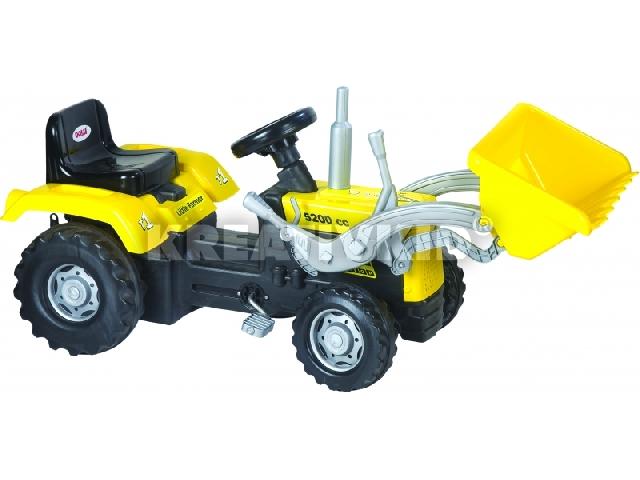 Pedálos traktor markolóval - 106 cm