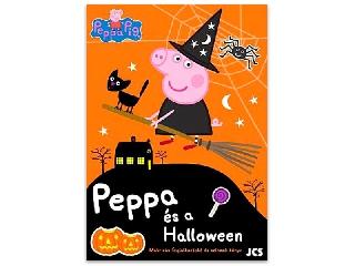 Peppa Malac: Peppa és a Halloween foglalkoztató matricákkal