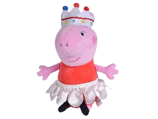 Peppa malac plüss - hercegnő jelmezben