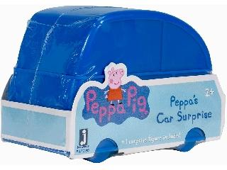 Peppa meglepetés figura autóban