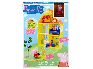 Peppa nagy házikó kerttel