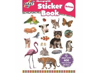 Photographic Sticker Book - Animals