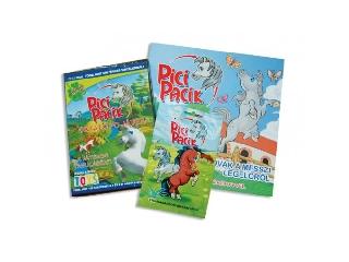 Pici Pacik könyv, PC játék és meglepetéscsomag