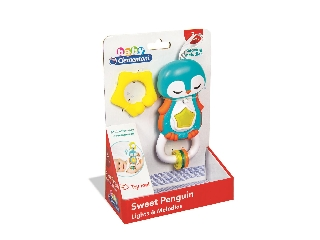 Clementoni Pingvin csörgő